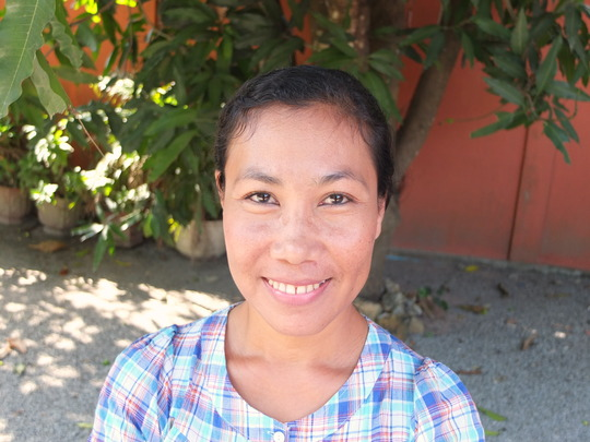 Dara, one of many now empowered women WRC support