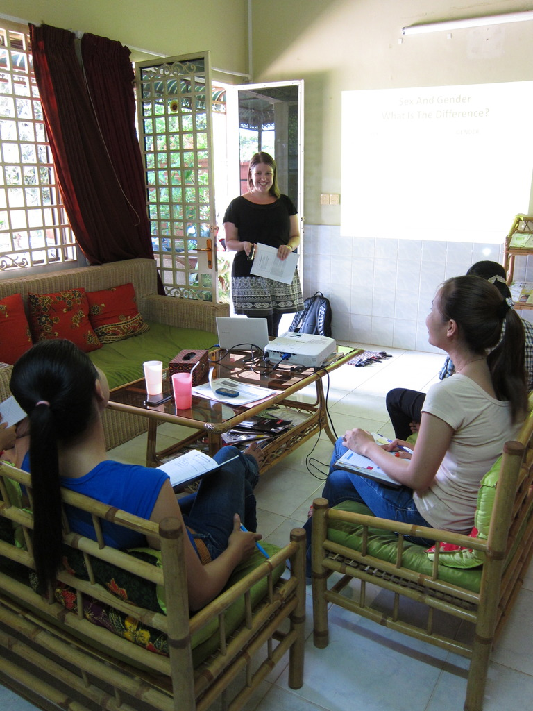 staff capacity building on gender roles