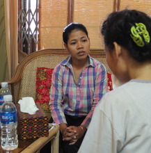 WRC counsellors support women emotionally.