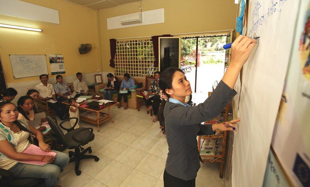 Parents Talk Workshop in action