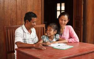 Healthy, happy families are integral for children