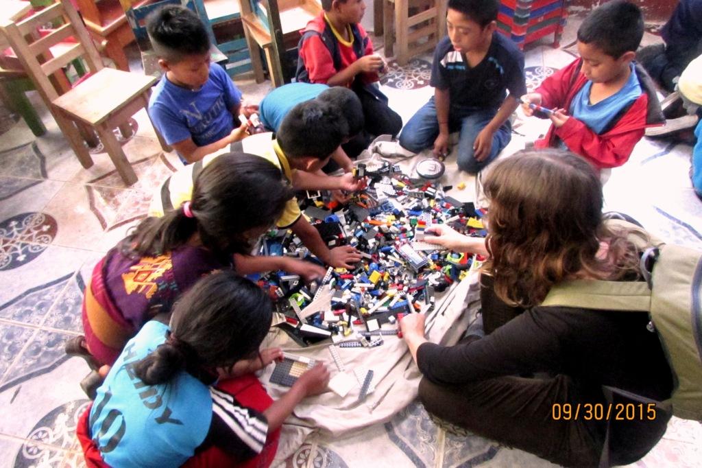 Playing Legos