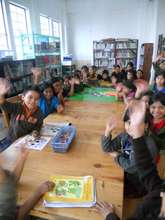 """Hello!"" from kids in Reading Level 2"