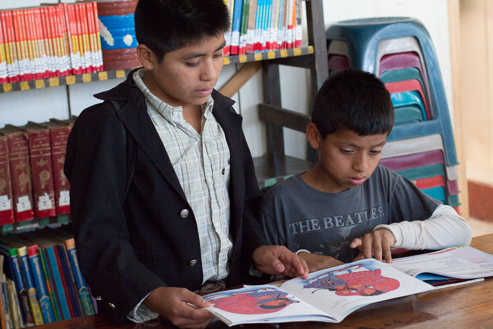 Support literacy and learning for 1,900 Maya youth
