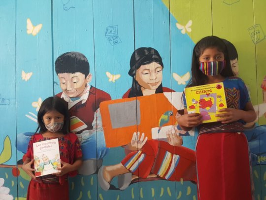 Support literacy and learning for 1,500 Maya youth