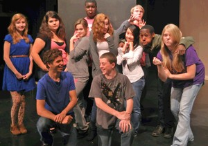 Student Cast of The Comedy of Errors