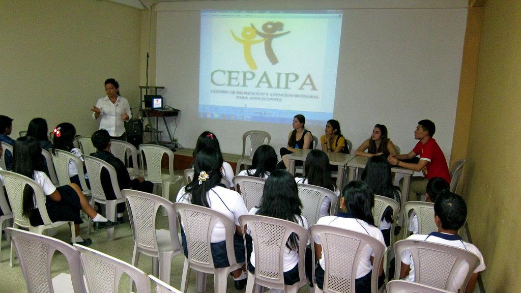 Laboratory Clinic for 2,100 Adolescents in Ecuador