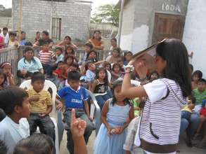 Children learn about basic health at CEPAIPA
