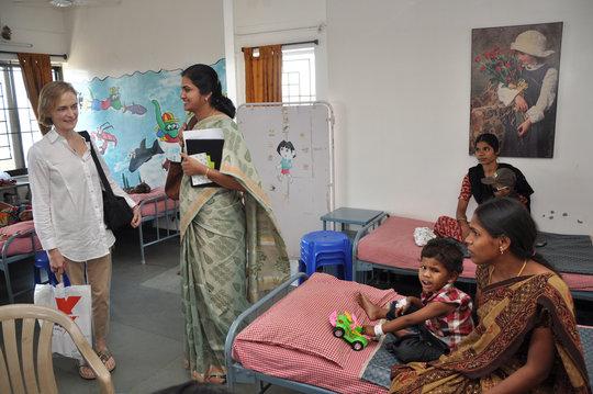 A visit to Aravind-Madurai Pediatric Cancer Ward