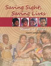 10th Anniversary of Aravind's Ring of Hope!