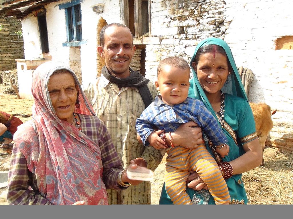 Shanti and family