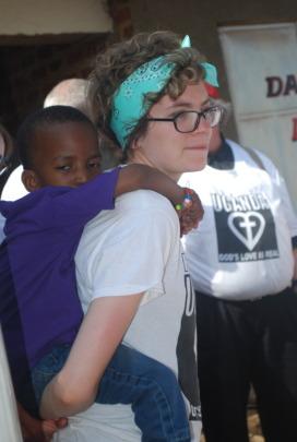 Hannah volunteer visit