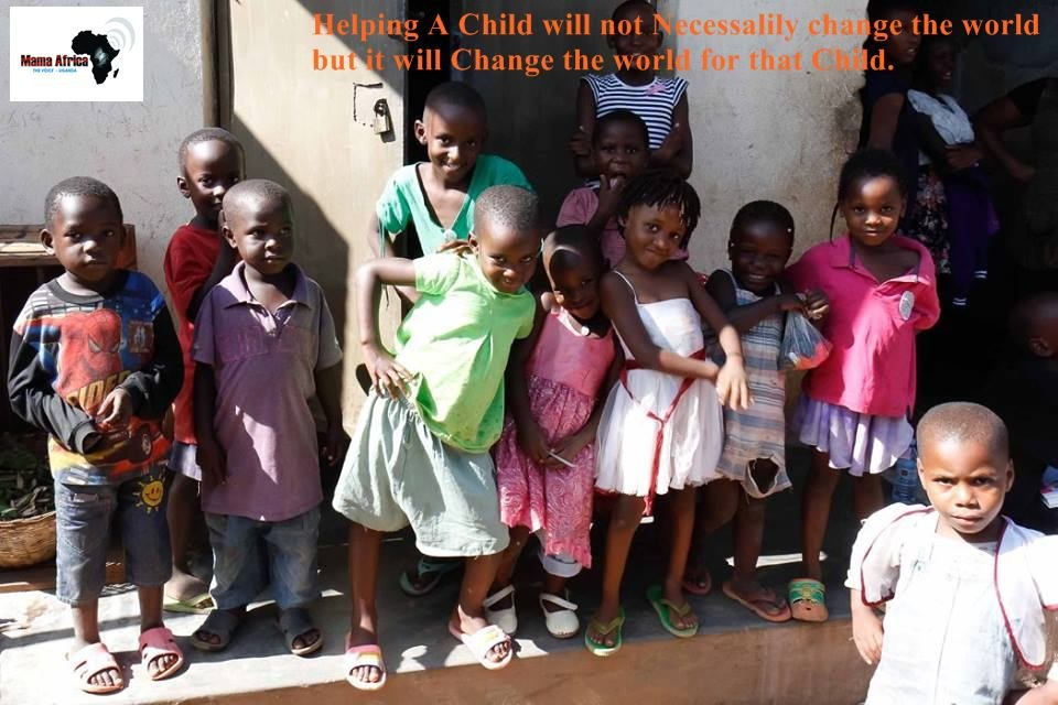 Group of some of the children you have Impacted