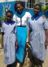 Doreen and moureen at their new school