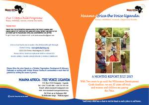 OUR 6 MONTHS REPORT AT MAAMA AFRICA (PDF)