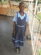 Moreen at school