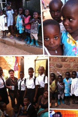 children visit by Ms Lisa