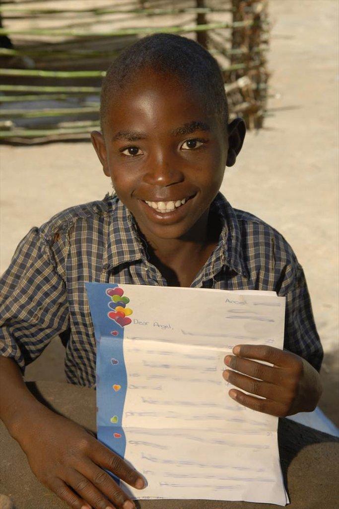 letter from his sponsor