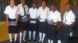 Big girls ready for school