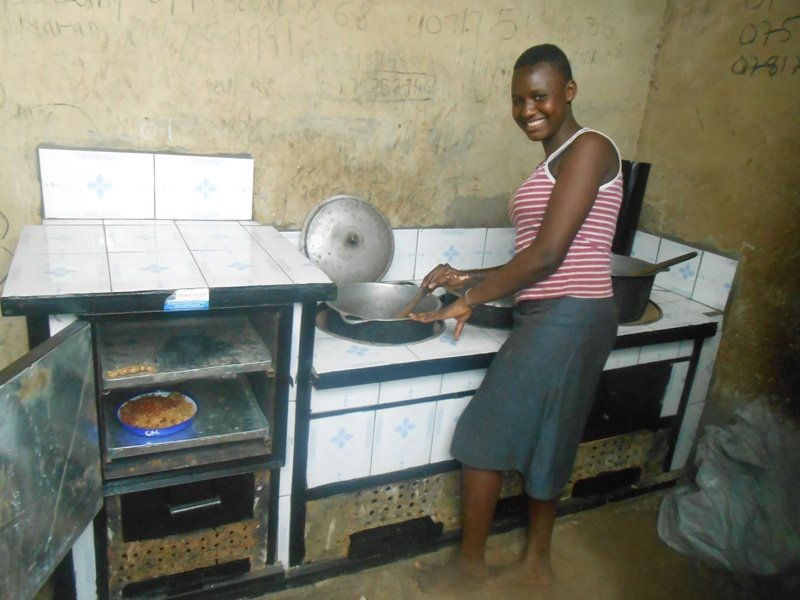 stove donated by vocation bible  school