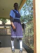 Sanyu in her school uniform