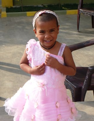 deepika youngest HIV girl at hyderbad care home