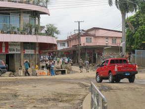 The main road in Nadi