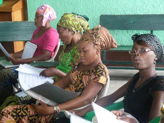 Women of the choir
