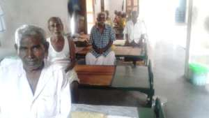 A group of beneficiary aged persons