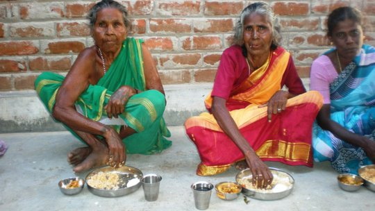 a group of beneficiaries elder