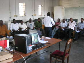 Rural Teachers Attending An ICT Workshop