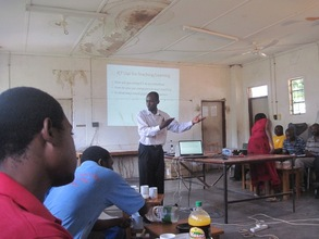 Mr Mupinda Giving and Overview of the Tools