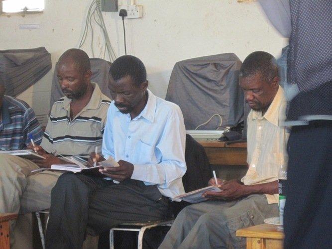 Teachers Attending The Workshops