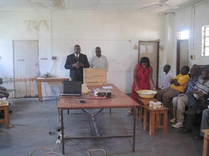 Mr Chitombo & Mr Mutseyami giving opening remarks