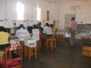Teachers Receiving Training From CZsw