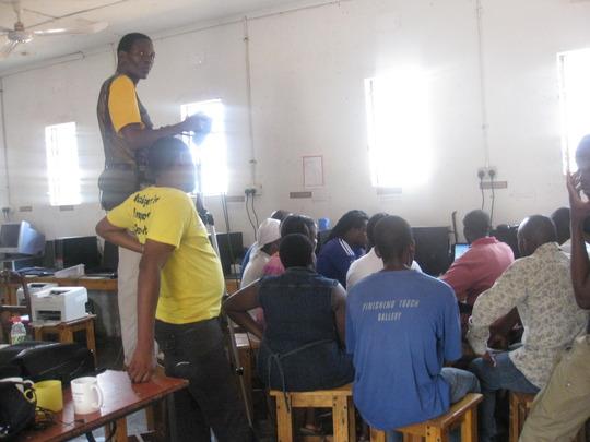 Teachers Attending the ICT Workshop