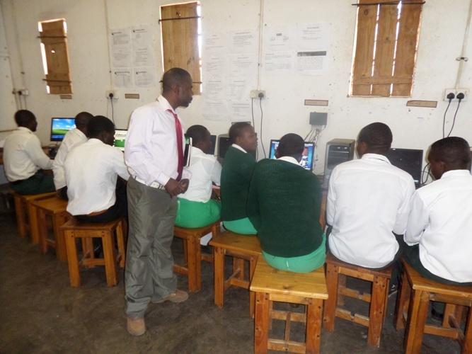 Rimbi High School Students