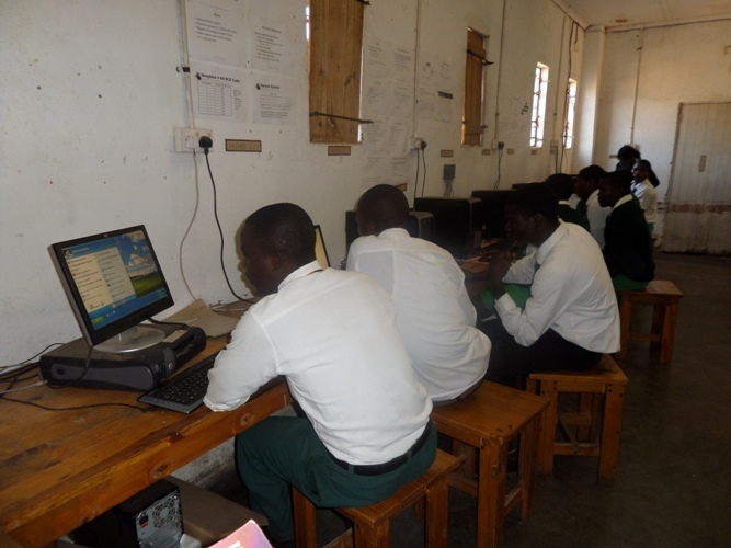 STUDENTS AT RIMBI HIGH NOW HAVE INTERNET ACCESS