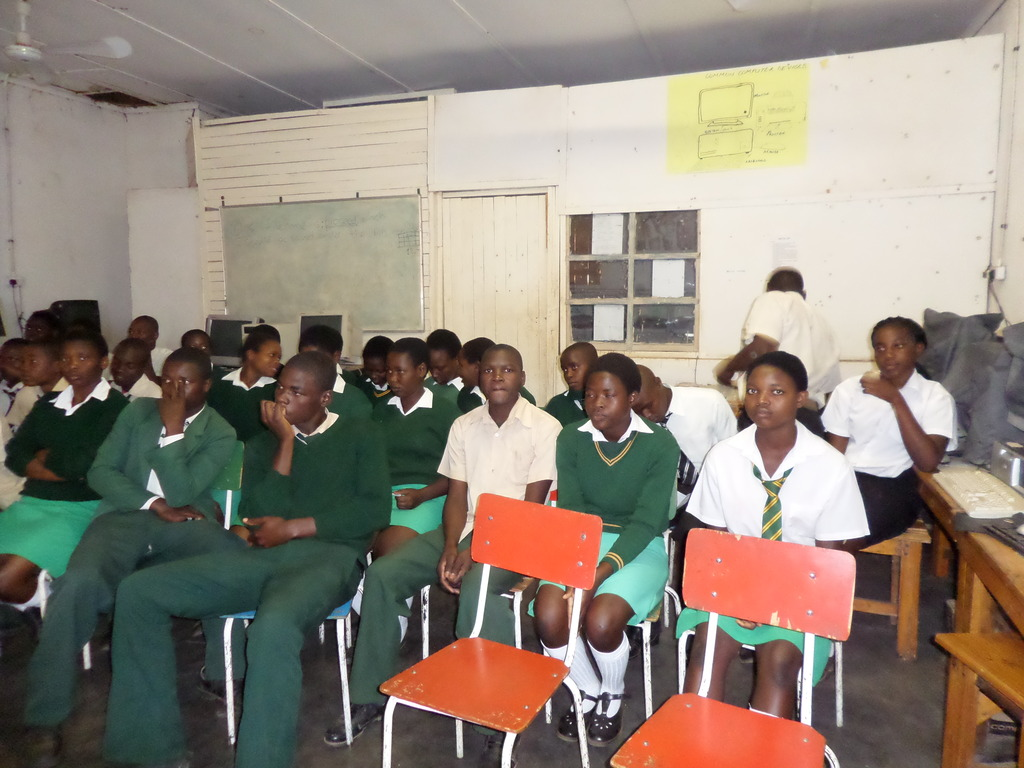Students Who Are Beneficiaries Of The Project