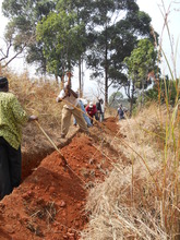 Community labour (Trenching)