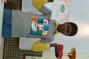 Bunty-winner of Pogo Amazing Kids Award for leadership