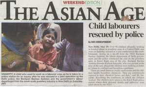 The Asian Age news article