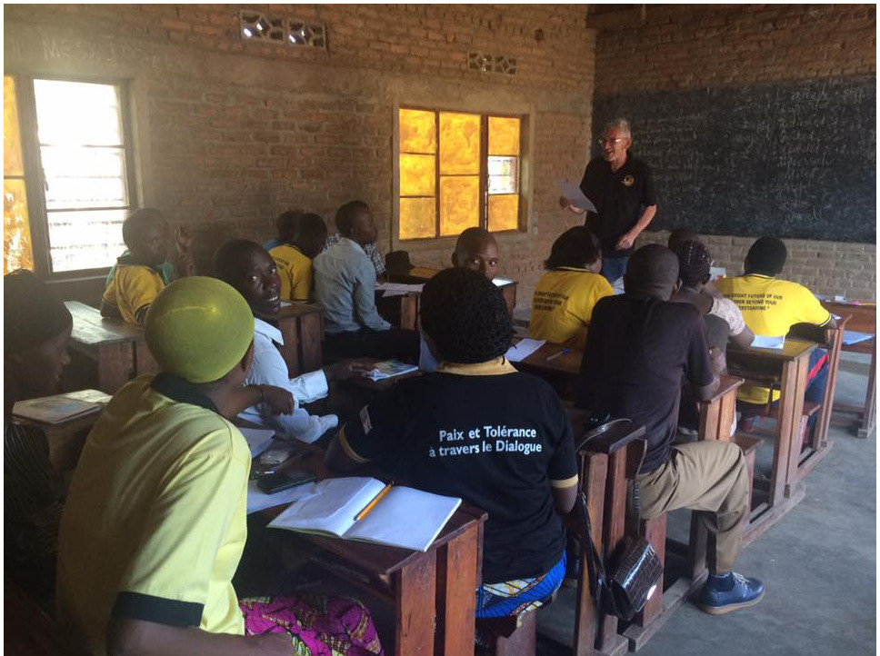 Teaching English at Muko School