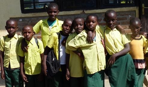 Eager Muko school children