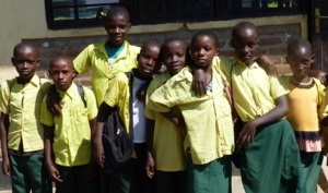 Eager Muko school children