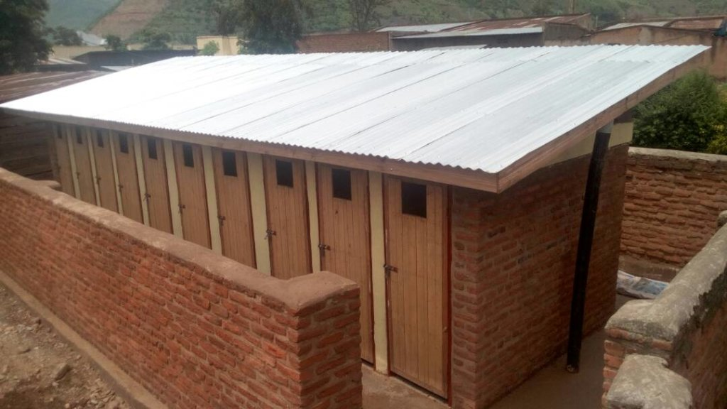 Some beautiful new toilets at Muko!