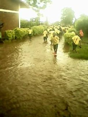 More Problems - Flooding in School!