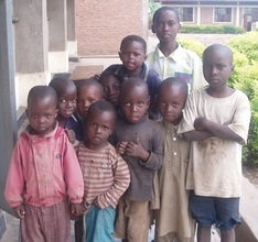 Some of the kids from Muko School