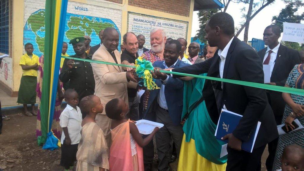 The Mayor of Rusizi opens new Muko classrooms