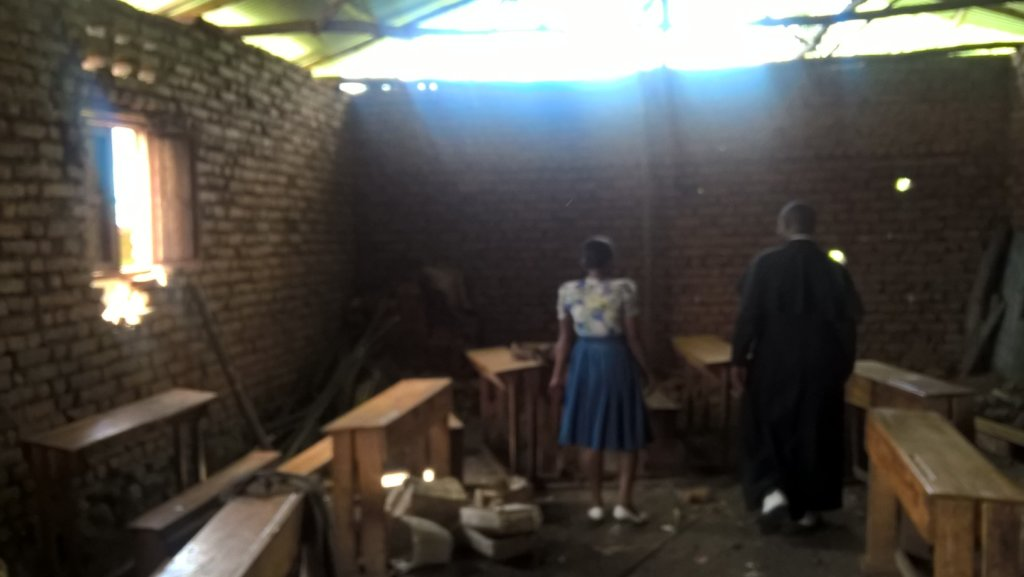 Classroom in Mubera